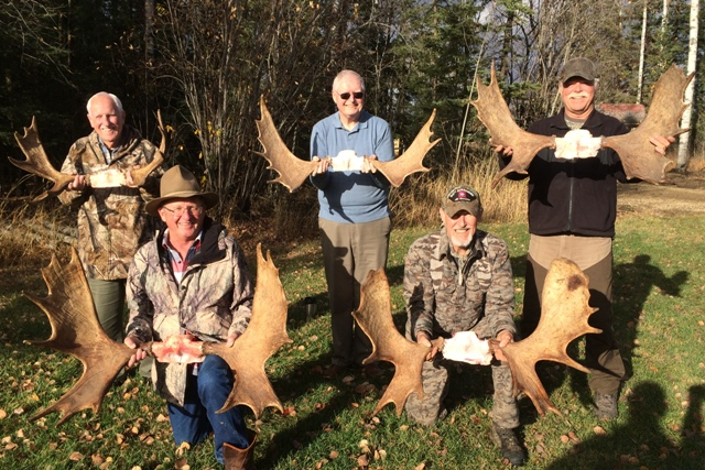 Canada Moose Hunting Mikes Outfitting