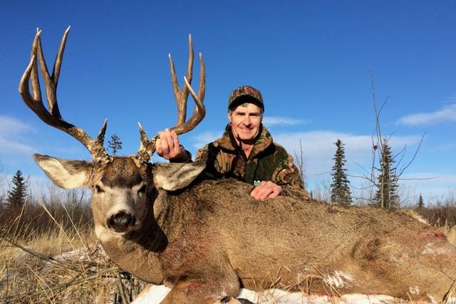 Mule Deer Hunting Mikes Outfitting Alberta Canada
