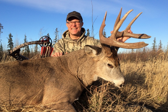Bowhunting Mikes Outfitting Alberta Canada
