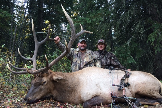 Canada Elk Hunting Mikes Outfitting