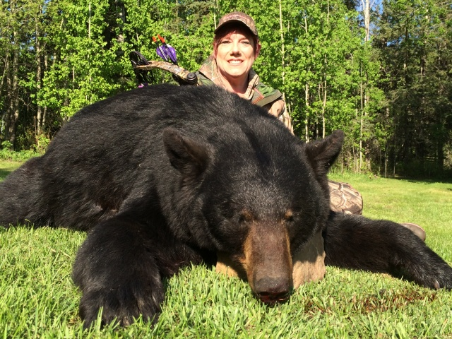 Alberta Canada Black Bear Hunting Mike's Outfitting