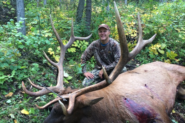 Mike's Outfitting Alberta Canada Elk Bowhunting Outfitters