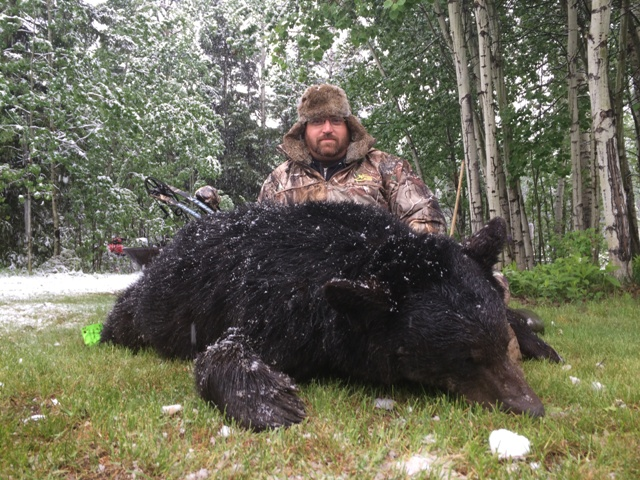 Alberta Bear Hunting Mike's Outfitting