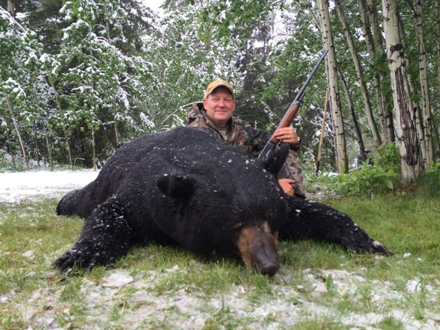 Trophy Canada Black Bear Hunts Mike's Outfitting