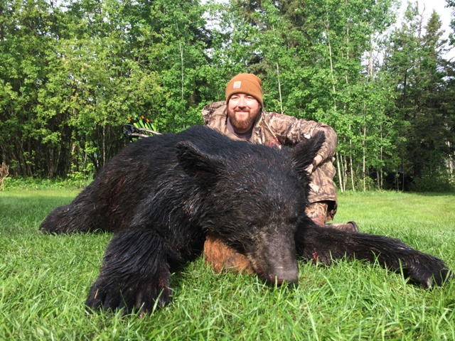 Alberta Canada Black Bear Hunts Mike's Outfitting