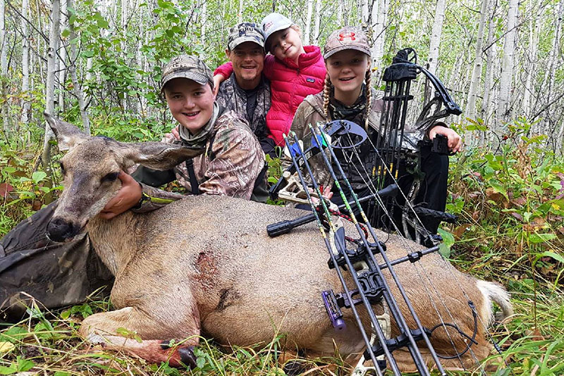Josh Ukrainetz and family