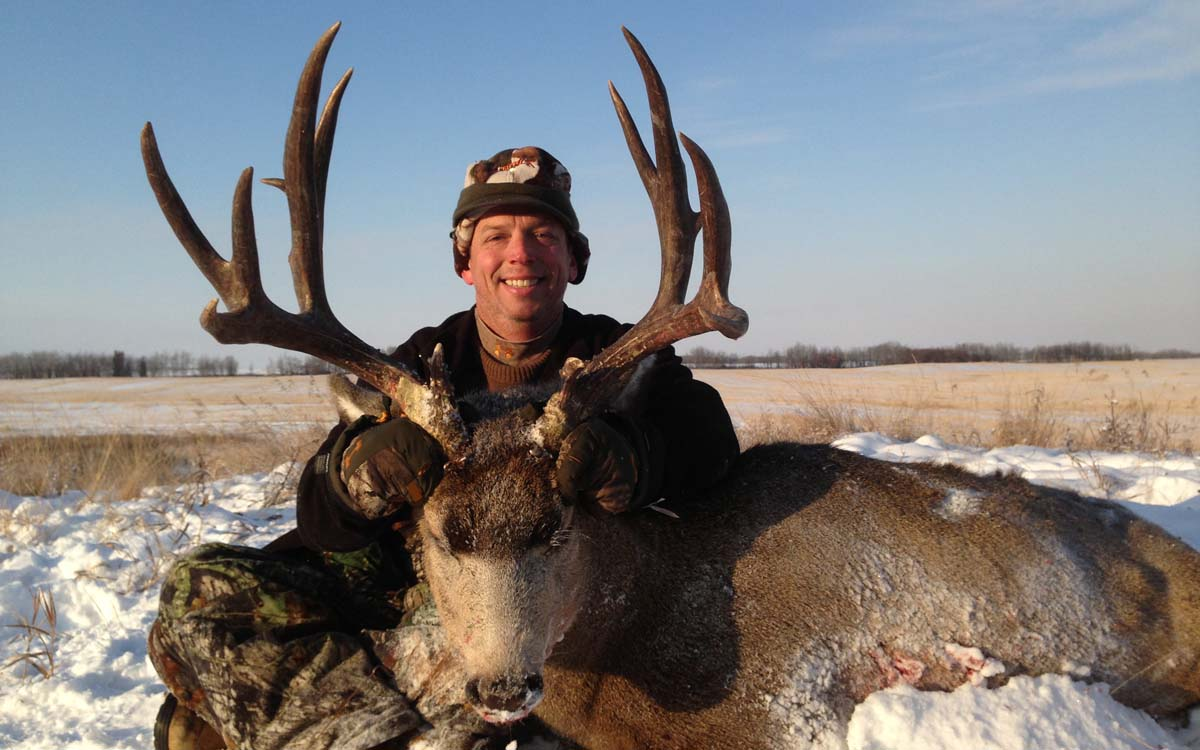 mule deer trophy rut hunt