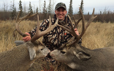 Alberta deer Hunting with Mike's Outfitting